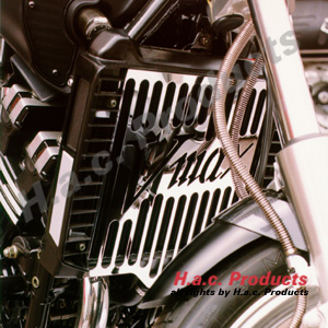 Radiator covers for custom bikes