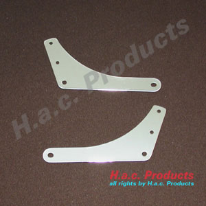 Side plates for sissy bar